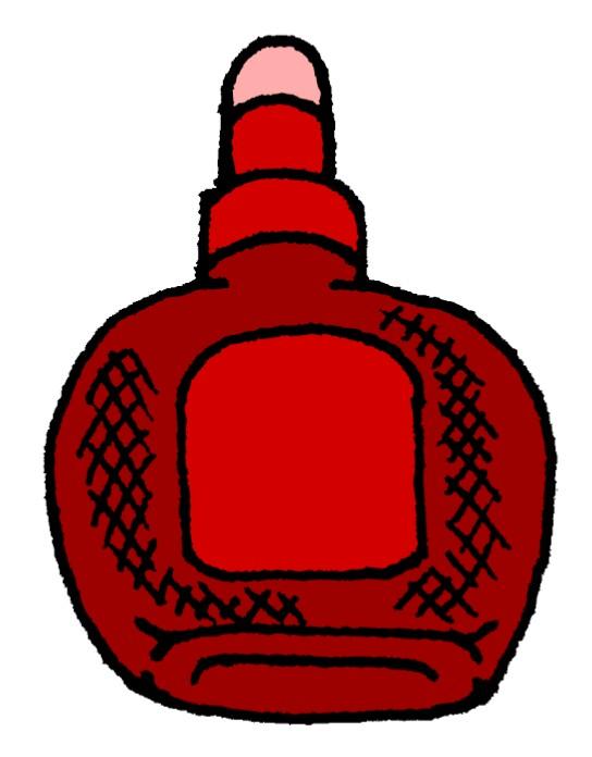 赤チンのイラスト