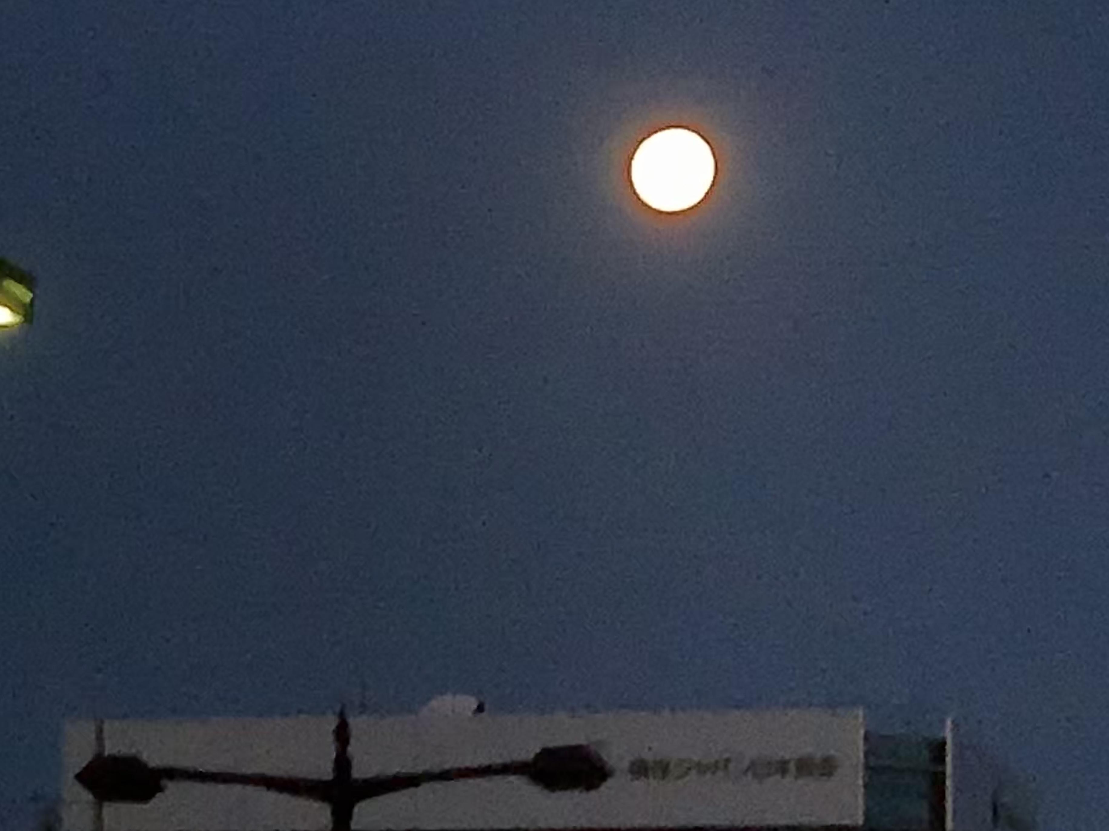 4月19日平成最後の満月