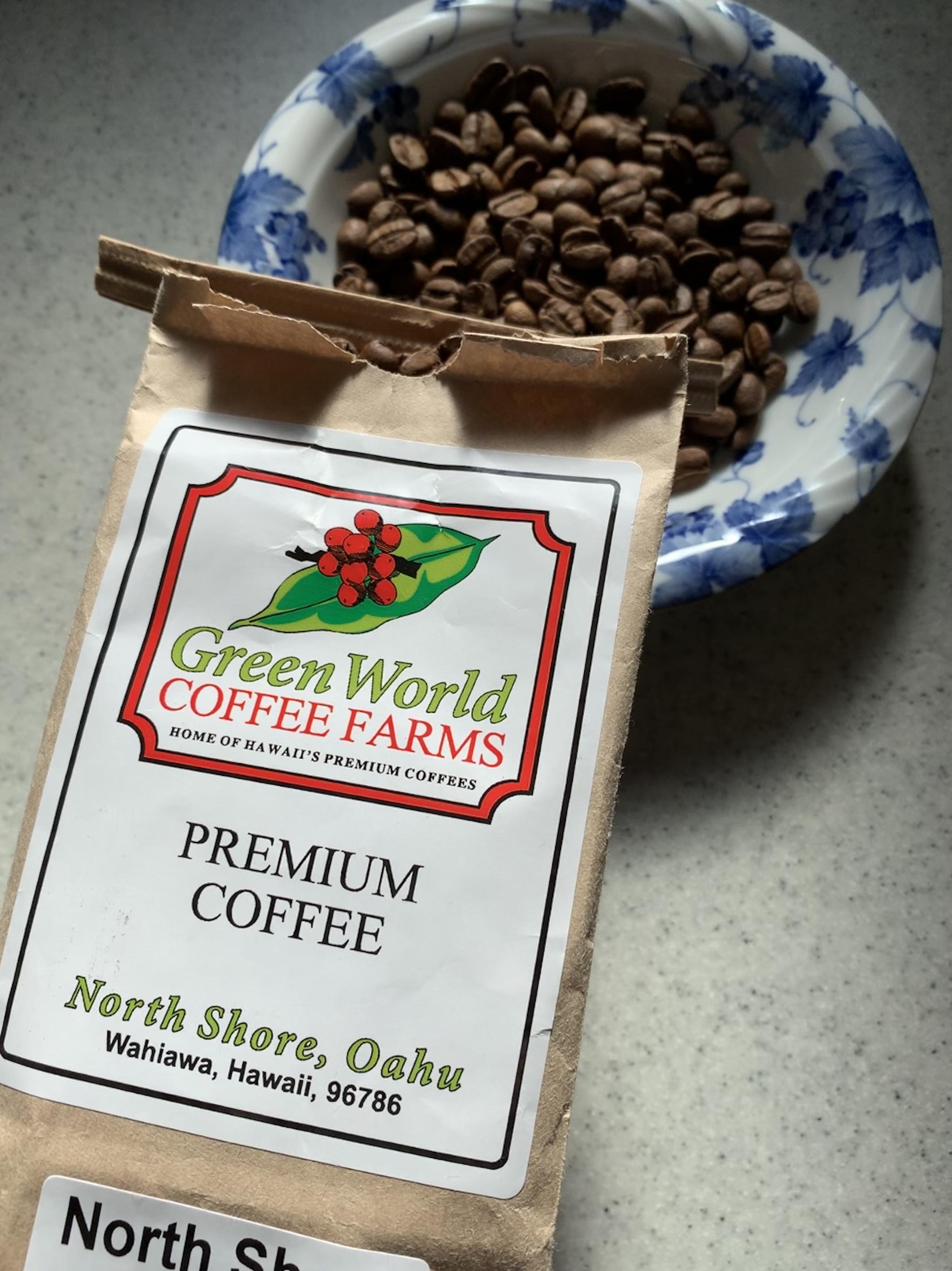 グリーンワールドコーヒーファームのコーヒー豆